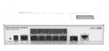 MIKROTIK CLOUDROUTER CRS212-1G-10S-1S-IN